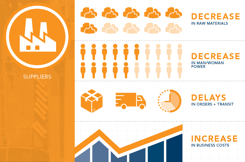 Suppliers Infographic