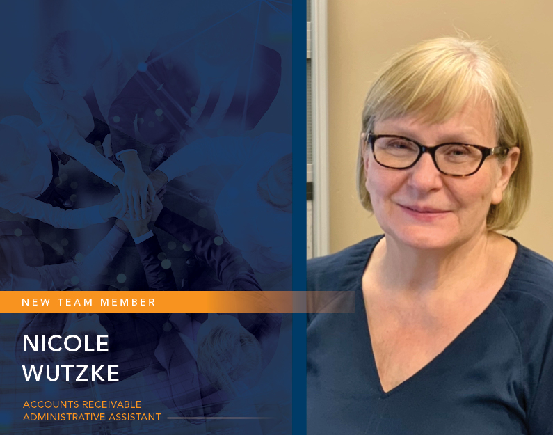 Nicole Wutzke – A New Asset To Our Team!