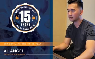 Congratulations to Al Angel for 15 Years!